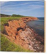 Prince Edward Island Coastline Wood Print