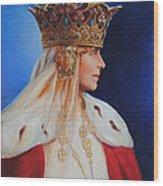 Queen Marie Of Romania Wood Print