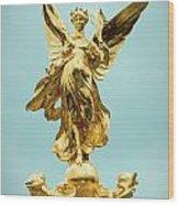Queen Victoria Memorial In London Wood Print