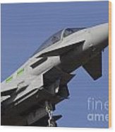 Raf Typhoon Wood Print