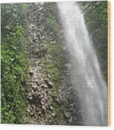Rock Climbing Rope Climbing Costa Rica Vacations Waterfalls Rivers  Recreation Challanges  Facilitie Wood Print