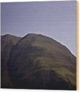 Rocky Hill In The Scottish Highlands Wood Print