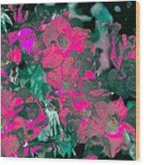 Rose 72 Wood Print
