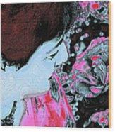 Rose Aroma Wood Print