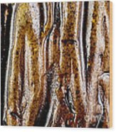Rough Abstract Ceramic Surface Wood Print