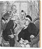 Rowlandson: Quack Doctor Wood Print
