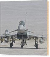 Royal Air Force Ef-2000 Typhoon Wood Print