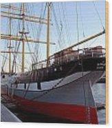 Sailing Ship Wood Print
