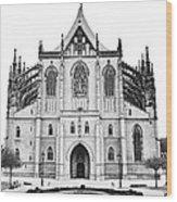 Saint Barbara Church  Wood Print