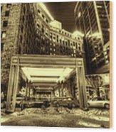 Saint Paul Hotel Wood Print