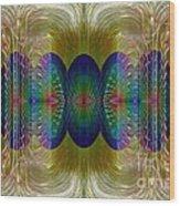 Salsify Abstract Wood Print