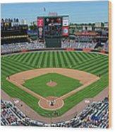 San Francisco Giants V Atlanta Braves Wood Print