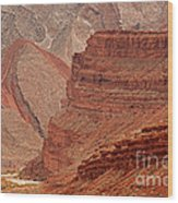 San Juan River Wood Print