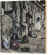 Saratoga Wood Print
