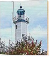Scituate Light Wood Print