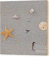 Sea Swag - Natural Wood Print