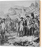 Siege Of Yorktown, 1781 Wood Print
