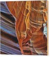 Slot Canyon Wood Print