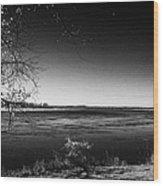 south Saskatchewan river near saskatoon Canada Wood Print