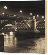 Southwark Bridge London Wood Print