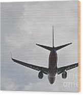 Southwest Airplane Boeing 737  Picture D Wood Print