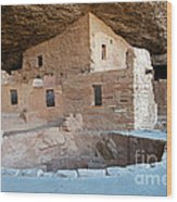 Spruce Tree House Mesa Verde National Park Wood Print