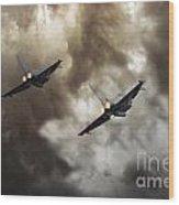 3 Squadron Wood Print