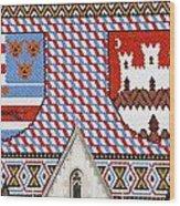 St Mark's Church Wood Print by Borislav Marinic