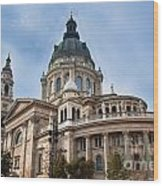 St. Stephen's Basilica In Budapest Wood Print
