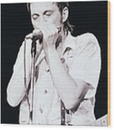 Steve Marriott - Humble Pie At The Cow Palace S F 5-16-80  Wood Print