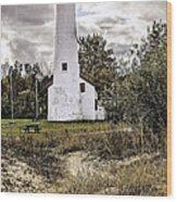 Sturgeon Point Lighthouse Wood Print