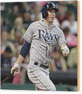 Tampa Bay Rays V Houston Astros Wood Print