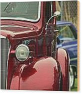 Terra Nova Hs Car Show Wood Print