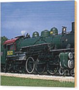 Texas State Railroad Wood Print