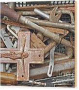The Carpenter Wood Print