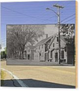 The Commons In Little Compton Rhode Island Wood Print