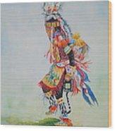 The Dancer Wood Print