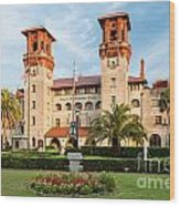 The Lightner Museum Formerly The Hotel Alcazar St. Augustine Florida Wood Print