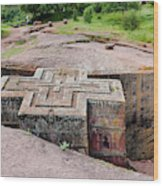 The Rock-hewn Churches Of Lalibela Wood Print