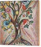 The Tree Of Life Wood Print