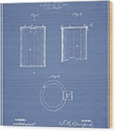 Tin Can Patent Drawing From 1878 Wood Print