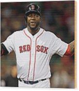 Toronto Blue Jays V Boston Red Sox 3 Wood Print