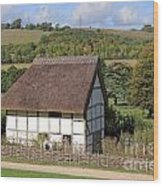 Traditional Cottage Sussex Uk Wood Print