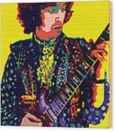 Transcendent Clapton Wood Print