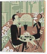 New Yorker April 23rd, 2012 Wood Print