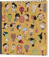 New Yorker November 1st 2010 Wood Print