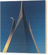 U.s. Air Force Memorial Wood Print