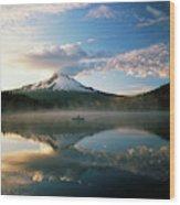 Usa, Oregon, Mount Hood National Wood Print