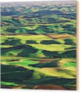 Usa, Washington State, Eastern Wood Print