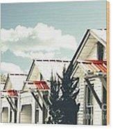 3-v Motel St Francisville La Wood Print